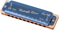 Fender Midnight Blues Harmonica in G