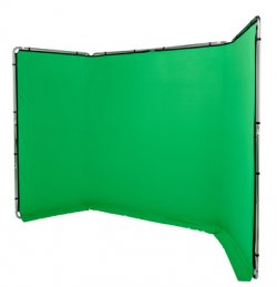 Lastolite by Manfrotto LL LB7622 Green Screen 4x2.3m